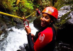 Lake District canyoning in Keswick