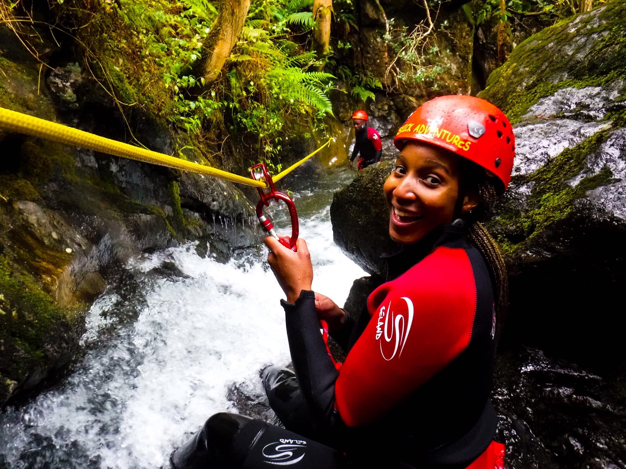 Lake District canyoning in Keswick: Commando Canyon