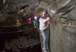 Climb Honister Slate Mine Lake District caving experience