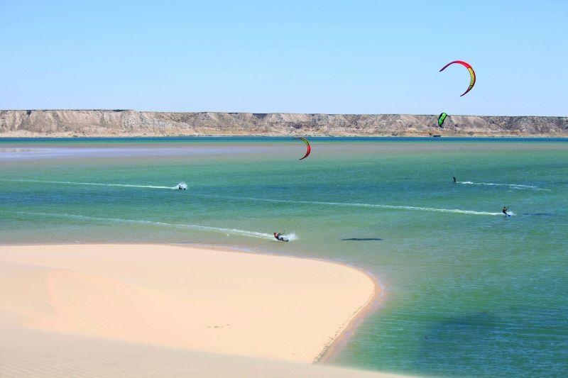 Dakhla learn to kitesurf holiday in Morocco / Western Sahara