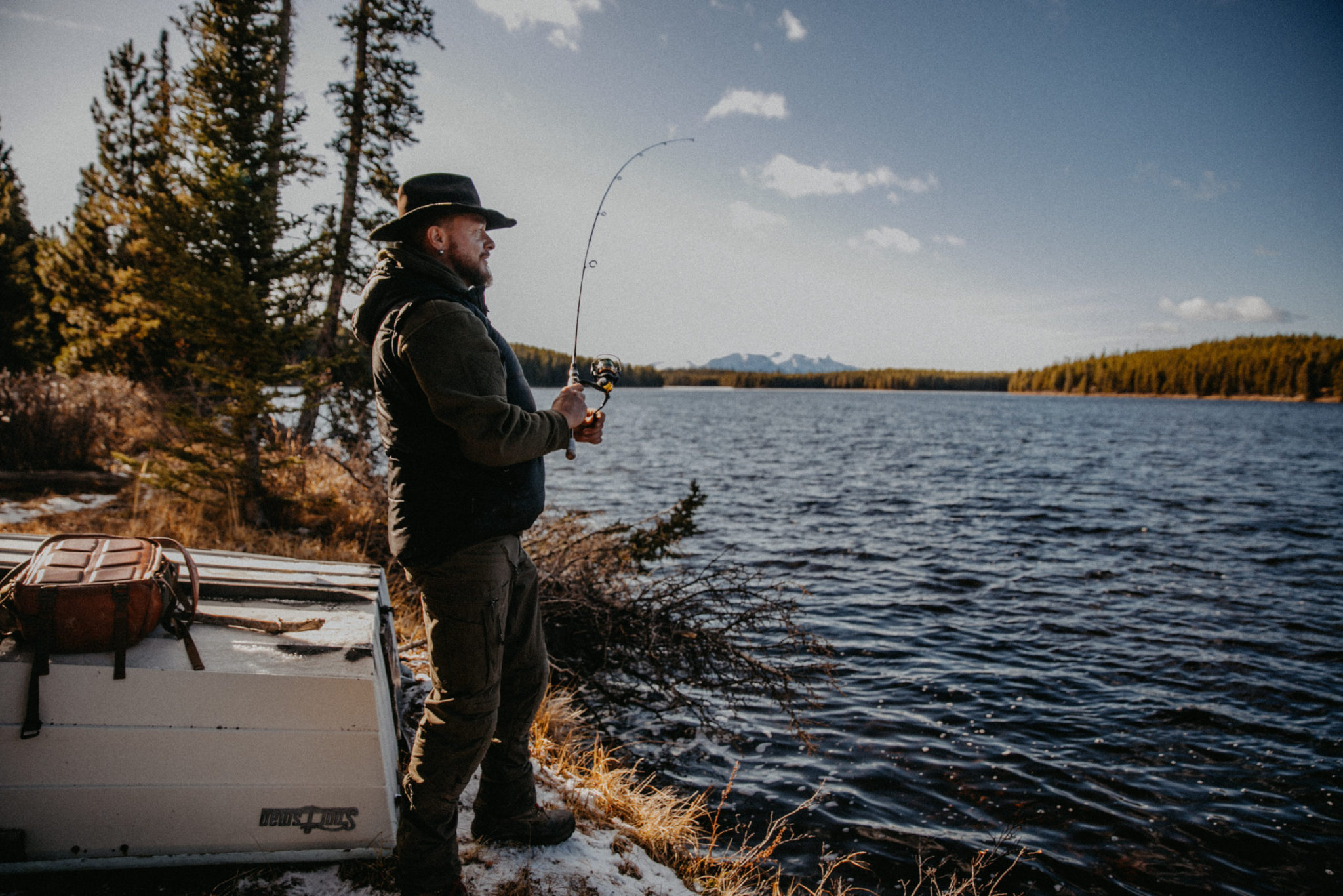 Short stay ranch break in Canada: BC fishing trip in Cariboo