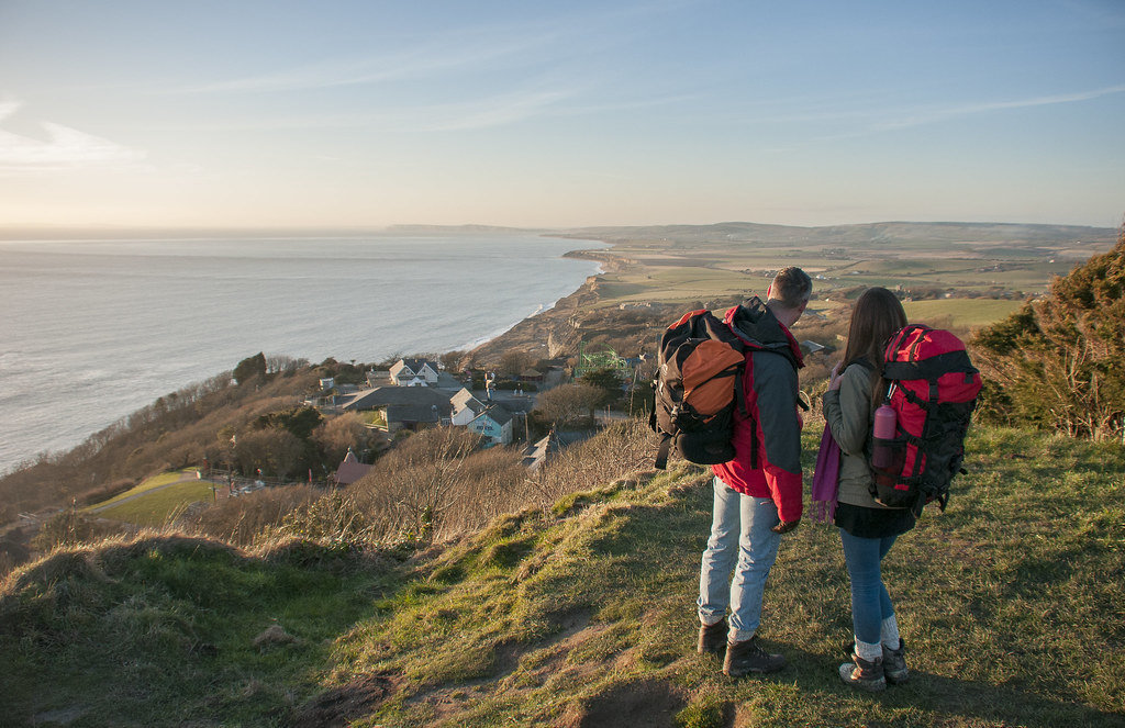 Hiking one of the best IOW activity holiday ideas image copyright of www.VisitIsleOfWight.co.uk