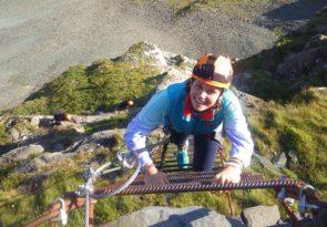 Lake District Via Ferrata experience near Keswick at Honister Pass