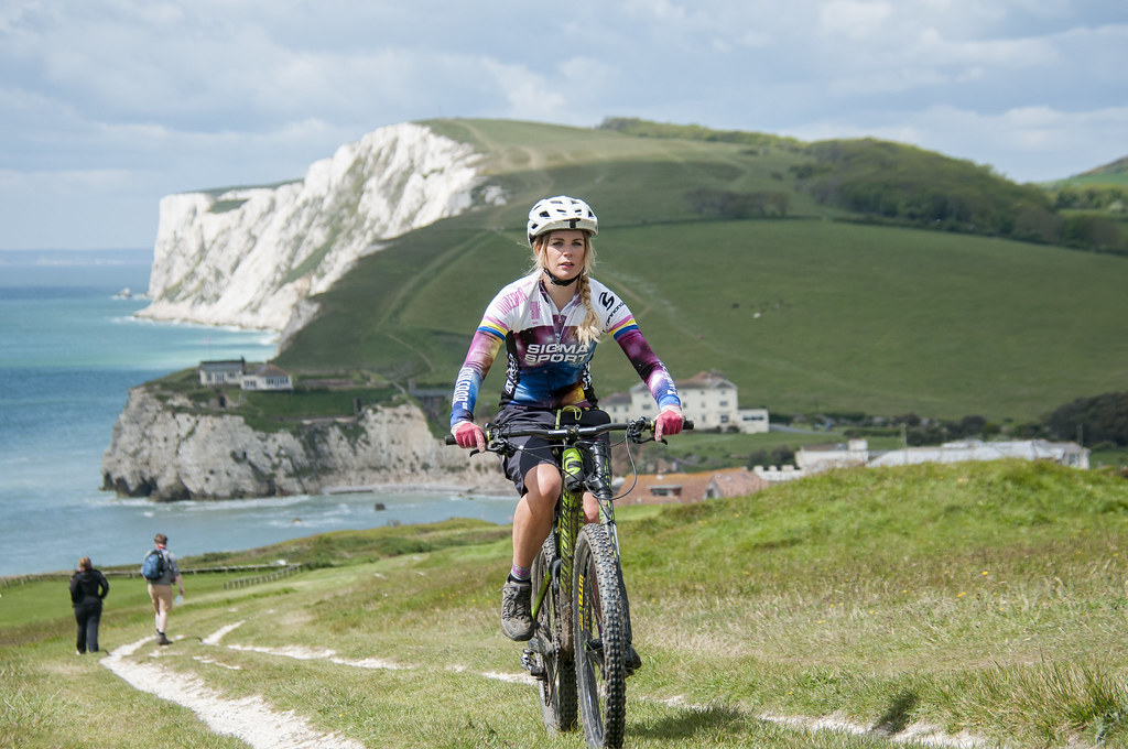 Mountain biking one of the best isle of wight adventures image copyright of www.VisitIsleOfWight.co.uk