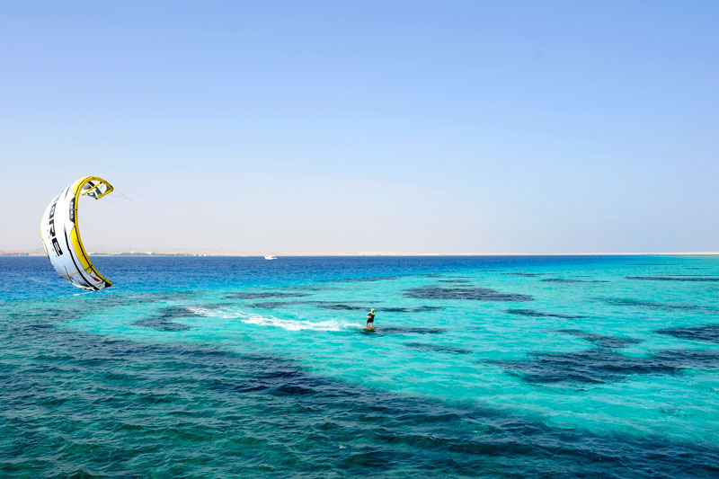 Egypt beginner kitesurfing holiday: Learn to kitesurf in Soma Bay