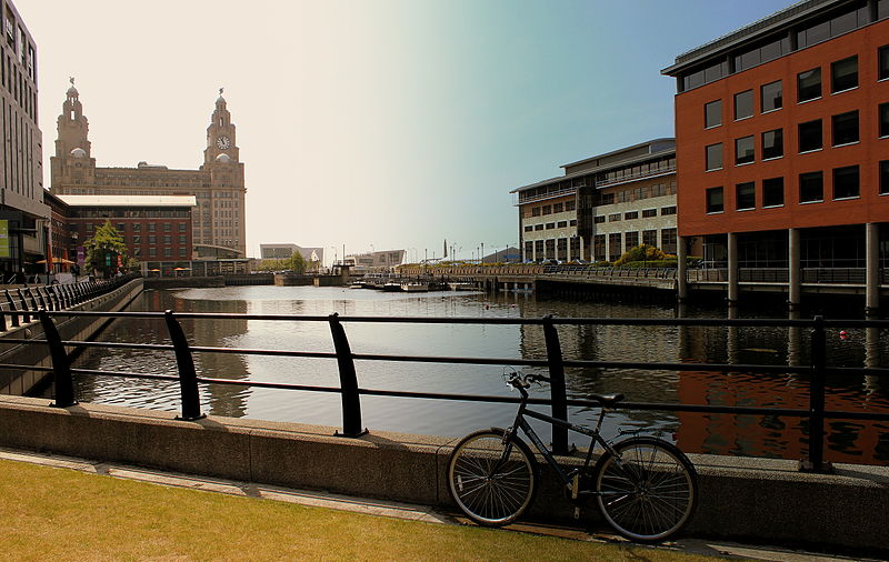 cycling LIVERPOOL city one of the best activities in Liverpool Wikimedia CC image by calflier001