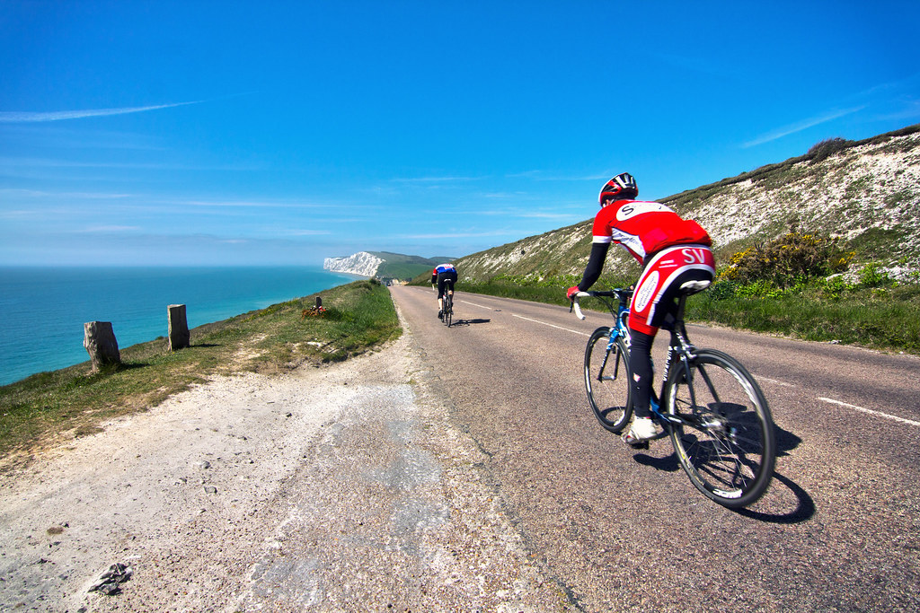 cycling one of the best IOW activity holiday ideas image copyright of www.VisitIsleOfWight.co.uk