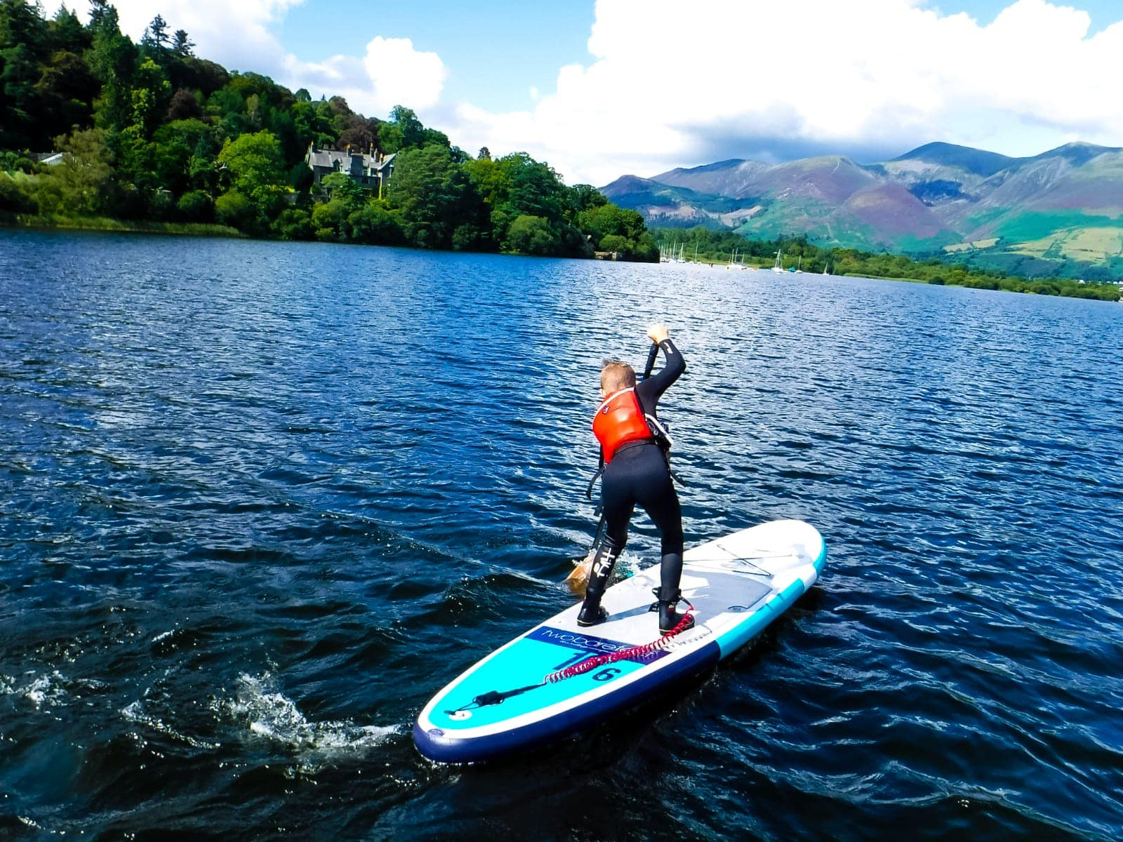 Derwentwater paddle boarding experience: SUP in the Lake District