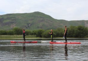 SUP in the Lake District
