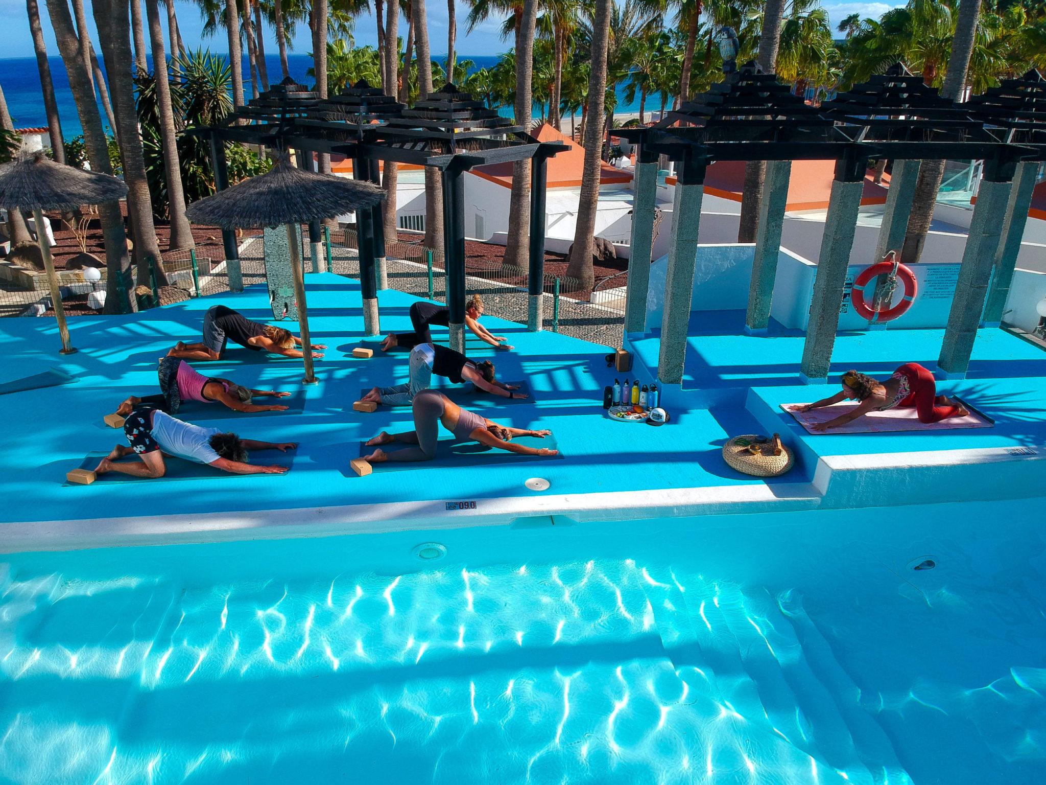 Surf camp in Fuerteventura: Costa Calma surfing & yoga holidays