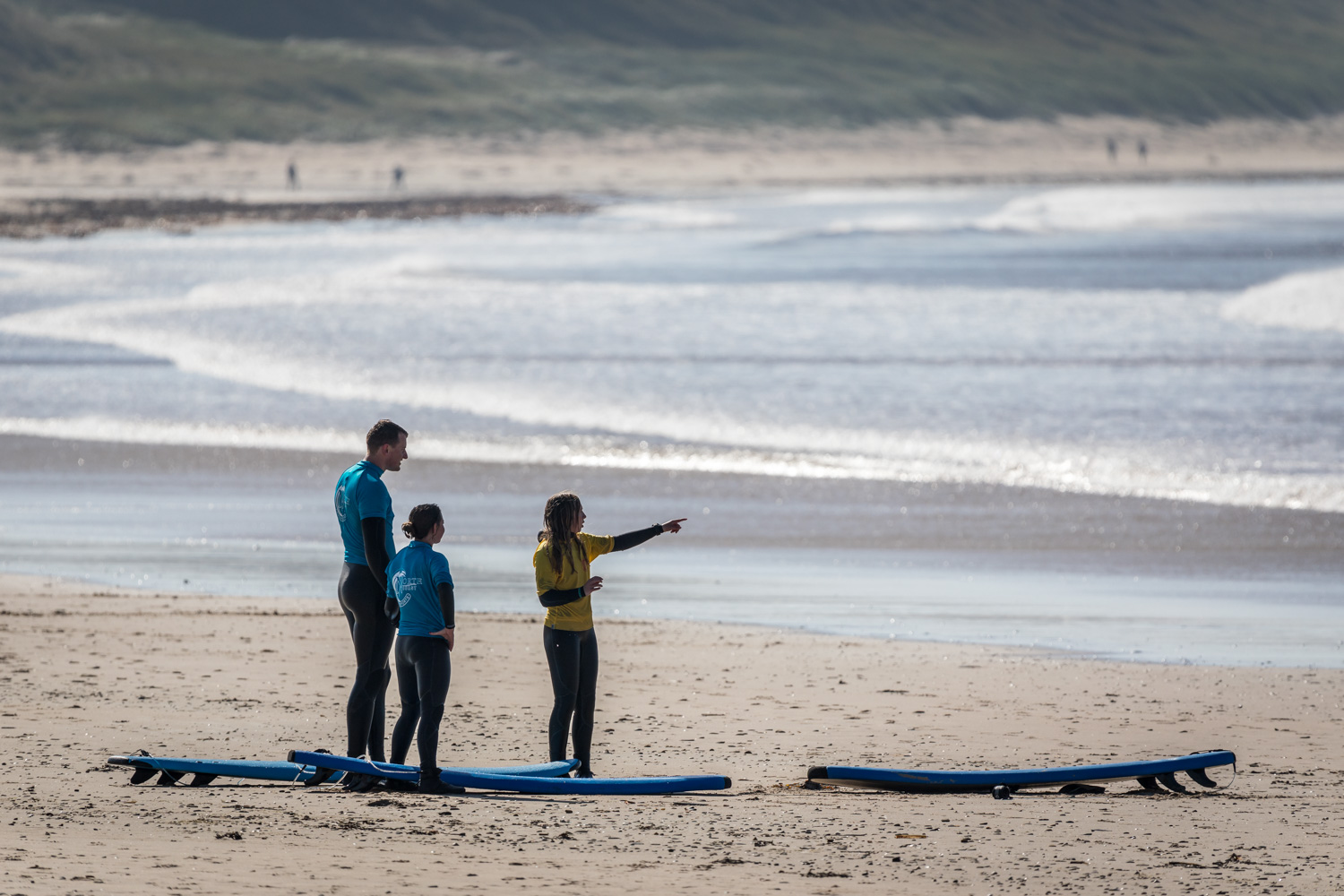 2 hour private surf lesson in Scotland: Highlands surfing course