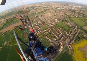 Learn to Paramotor UK: Lincolnshire beginners paramotoring course