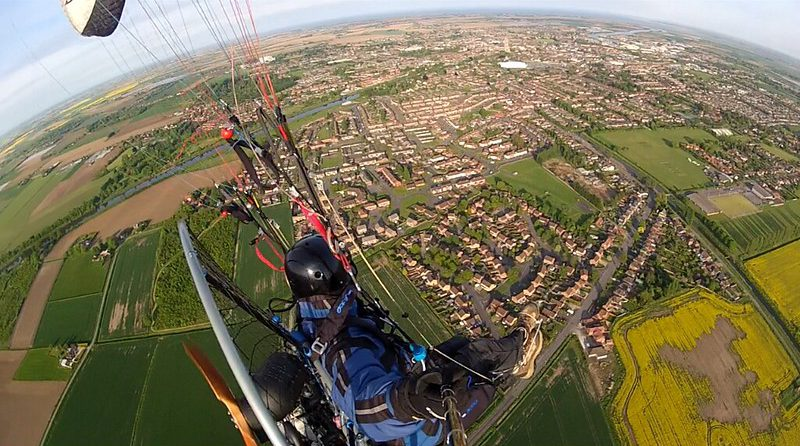 Lincolnshire beginners paramotoring course: Learn to Paramotor UK