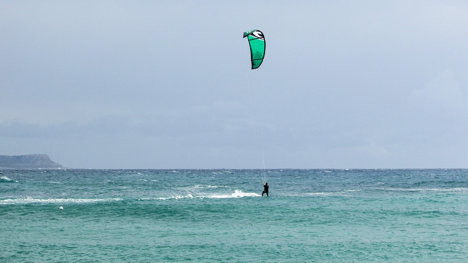 Best Cyprus kite spots Pixabay royalty free image from Ayia Napa Makronissos Beach