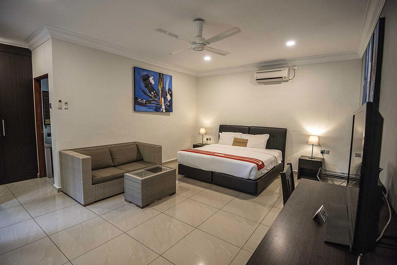 Tioman Dive Resort Malaysia: Air Batang Bay diving accommodation