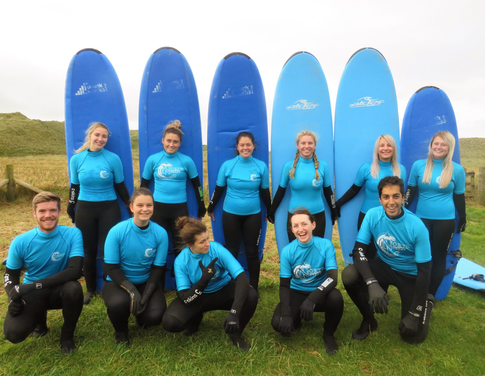 Improvers surfing course in Scotland: 2 hour surf coaching Dunnet