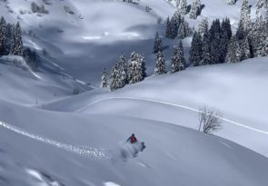 Chablais Alps splitboarding adventure in Switzerland and France by Mint Snowboarding
