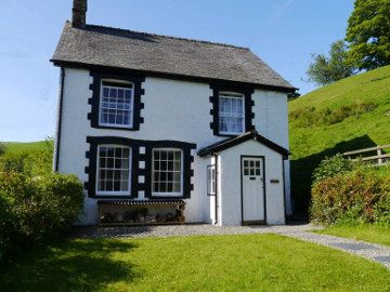 Berwyn Range MTB accommodation: Mountain biking cottage in Wales
