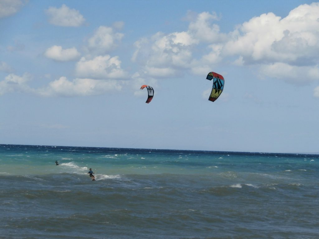 Guide to Cypriot kitesurfing holidays Best Cyprus kite spots Needpix royalty free image from Morphos Bay