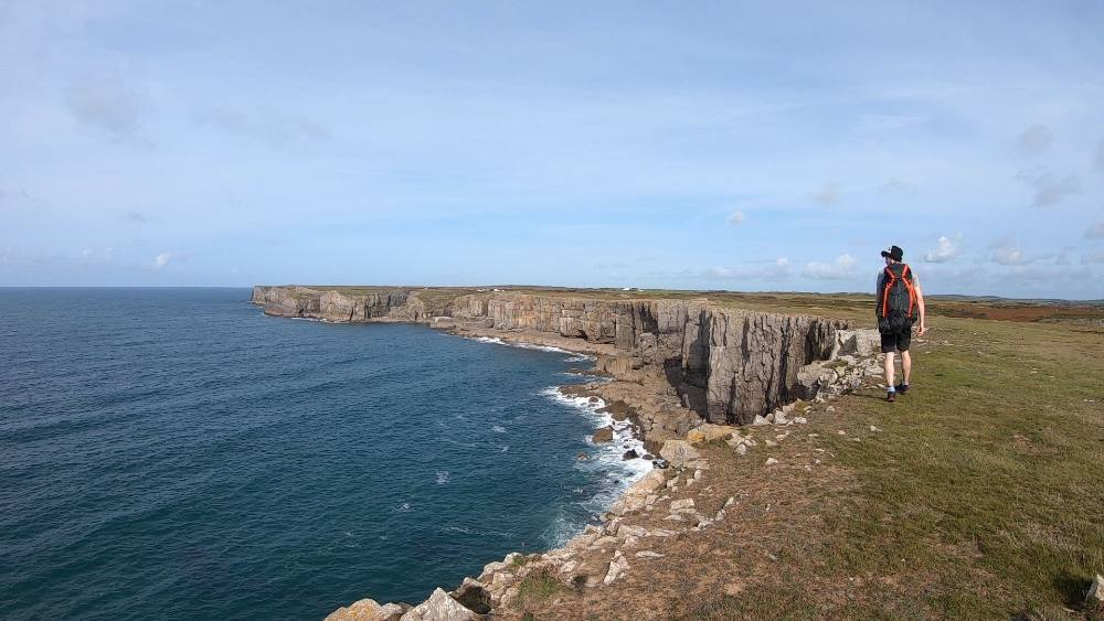 Guide to Pembrokeshire Coast Path trek Wales trekking holiday review Photo Copyright Matt Lynch