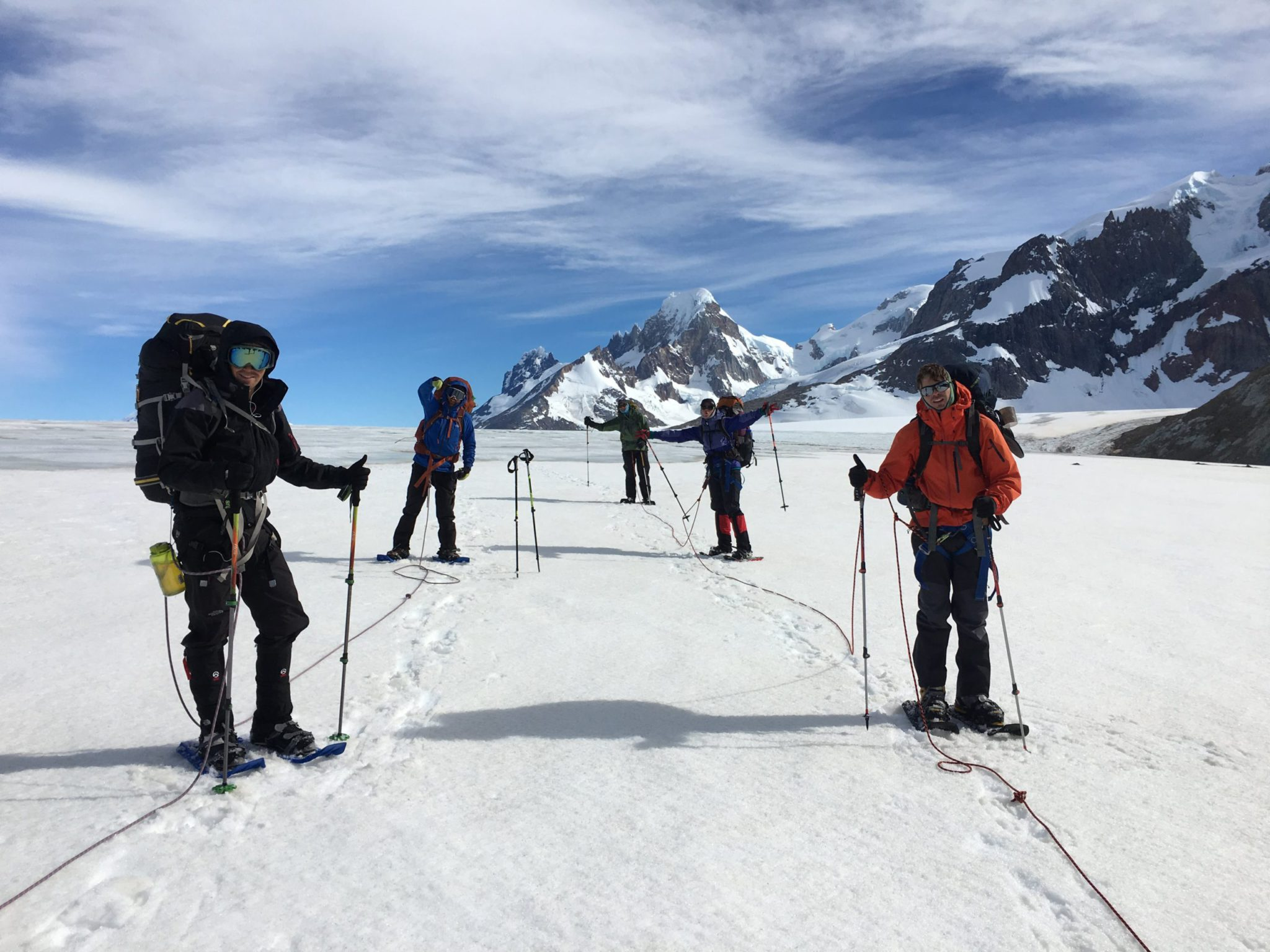 Southern Patagonian Icefield expedition: Argentina mountaineering
