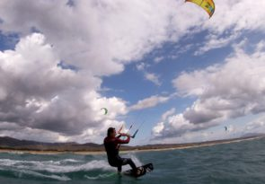 Ireland beginner kitesurfing course in Wexford