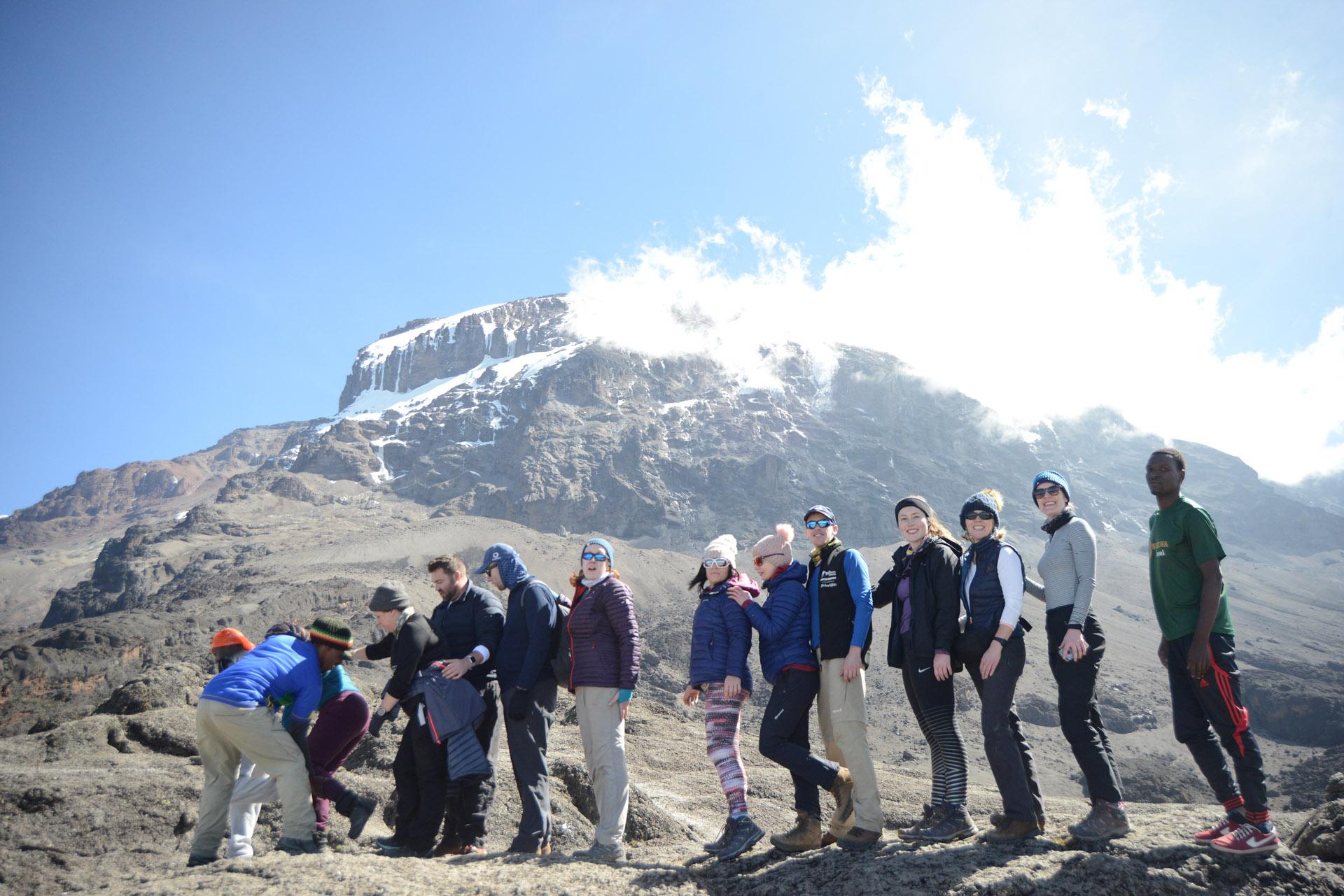 Kilimanjaro trekking holiday: 6 Days Machame route climb