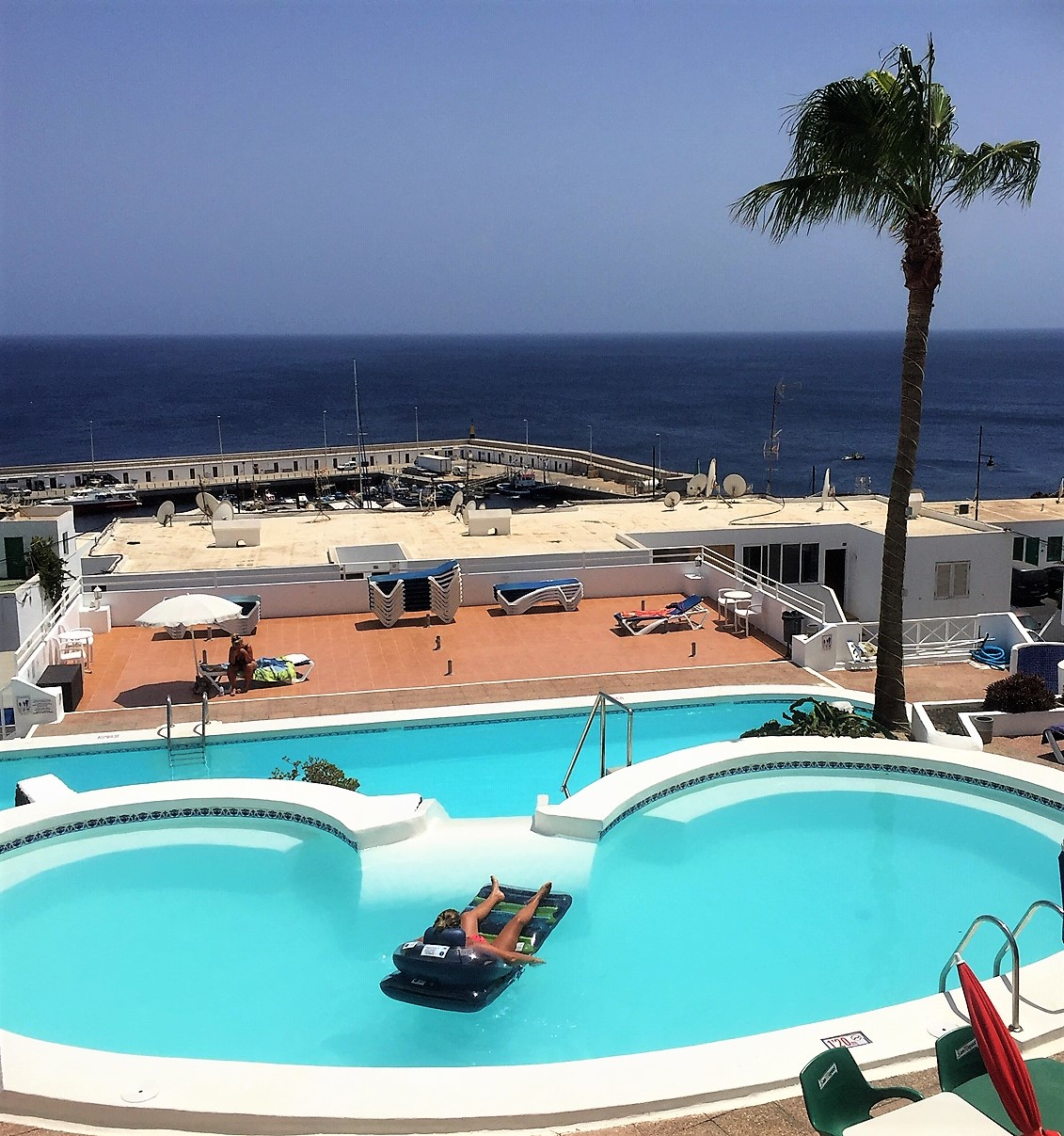 Puerto del Carmen apartment with pool: Accommodation in Lanzarote