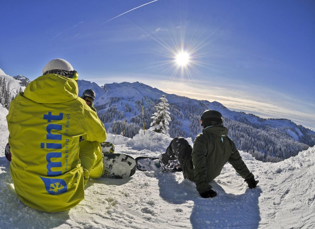 Private snowboard tuition in Avoriaz, Morzine, Les Gets & Chatel