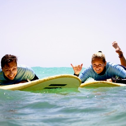 Costa Calma surf lessons in Fuerteventura: Surfing for all levels