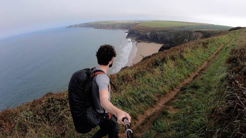 Trekking the Pembrokeshire Coast Path in Wales Copyright Matt Lynch