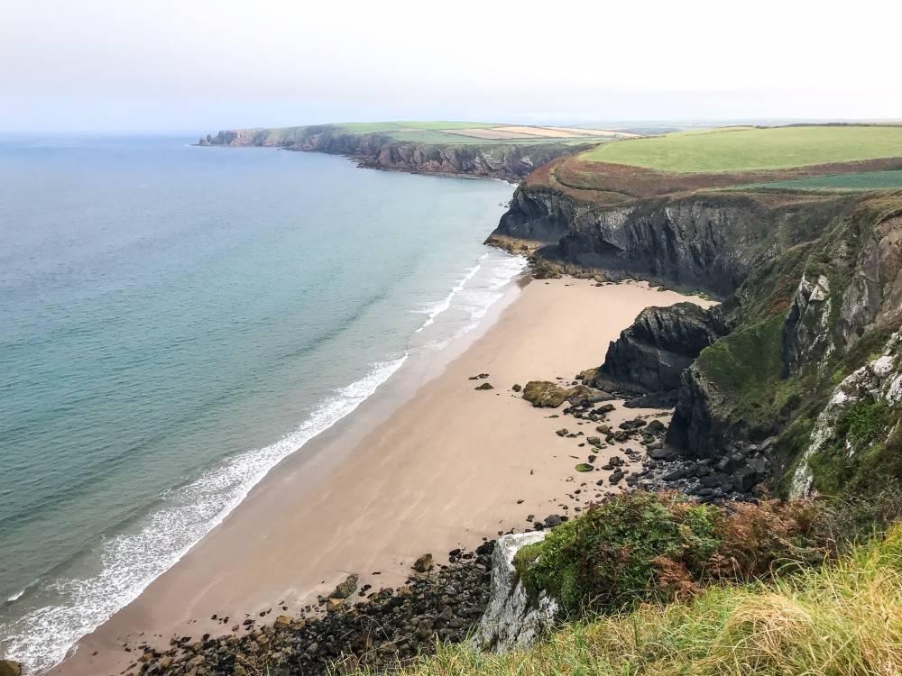 Wales trekking holiday on Pembrokeshire Coastal Path Photo Copyright Matt Lynch