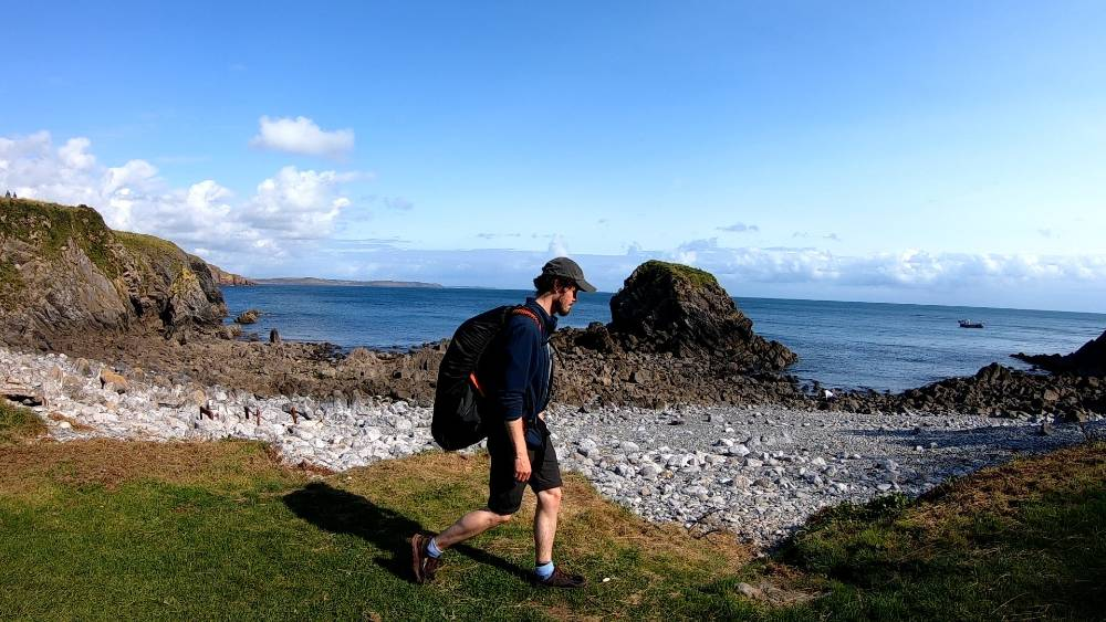 Wales trekking holiday review from Pembrokeshire Photo Copyright Matt Lynch