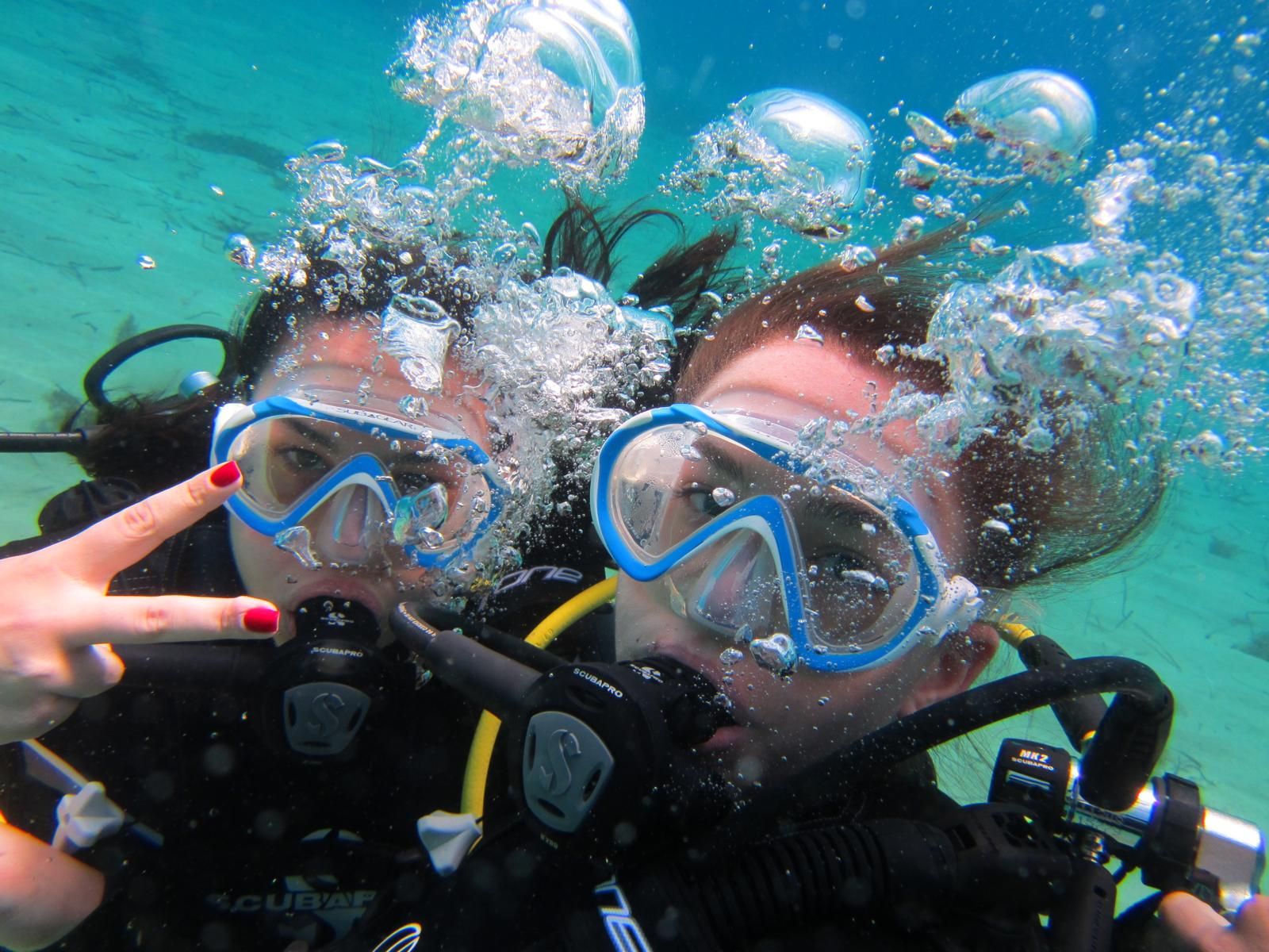 Try a dive in Greece: Discover scuba diving in Mykonos
