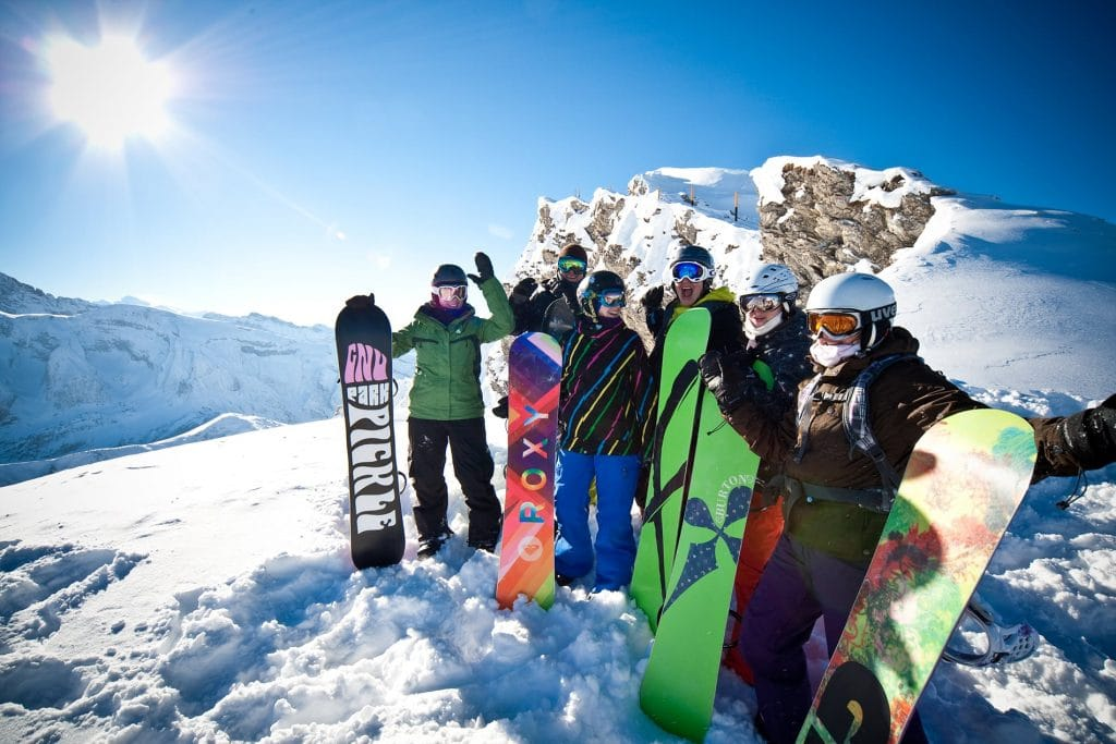4 day group snowboarding course in Avoriaz, Morzine & Les Gets