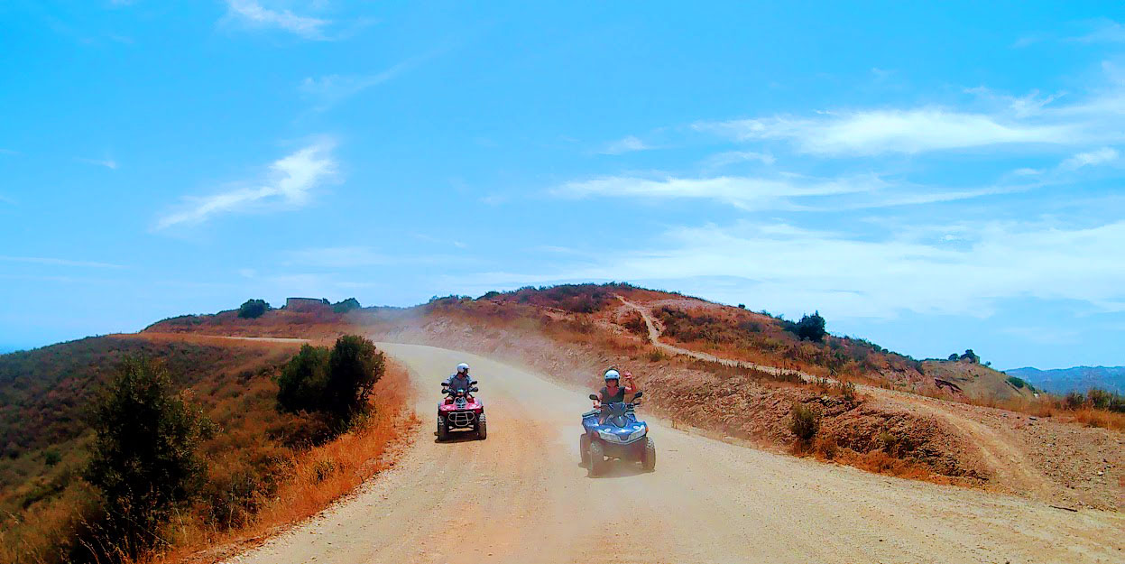 2 hour Mijas quad biking experience in Costa Del Sol, Spain