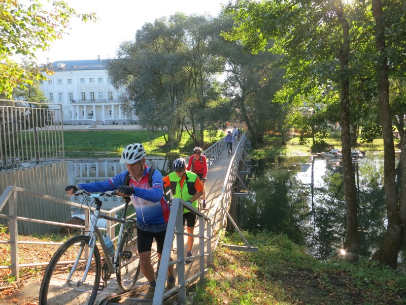 Golden Autumn bike tour: Literature cycling holiday in Russia