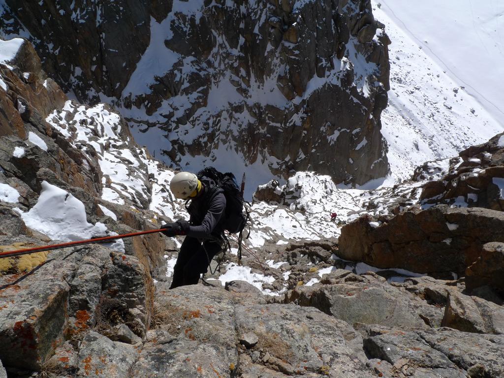 Kyrgyzstan mountaineering trip: North Tian Shan climbing school