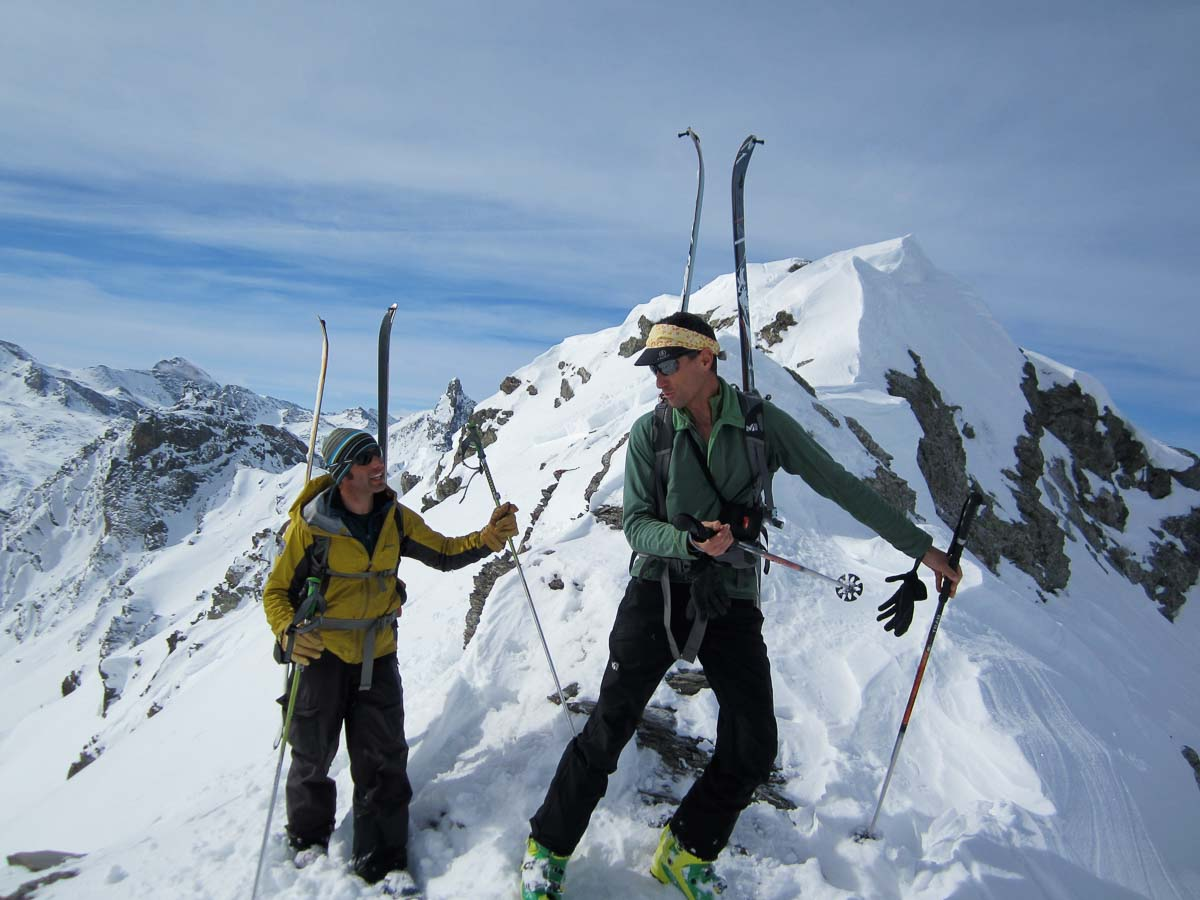 8 day guided Queyras ski touring holiday in the French Alps