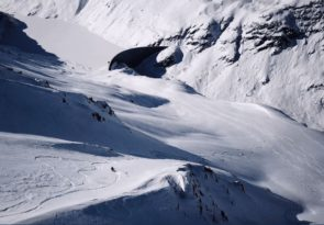 val-dannivers on Swiss Freeride camp backcountry snowboarding holiday in Zinal by Mint Snowboarding