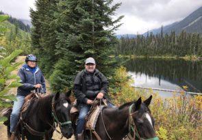 half day horseback ride in Canada