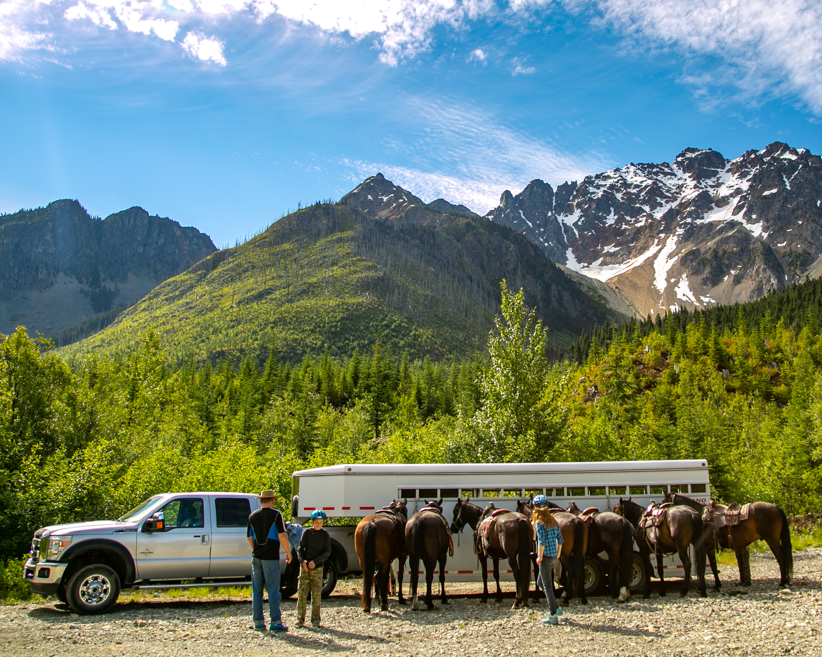 Li-lik-hel Gold Mine Horseback Riding Expedition in BC, Canada