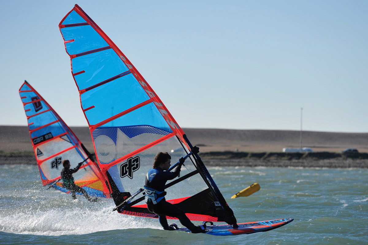 1 day Dorset RYA advanced windsurfing course in Portland Harbour