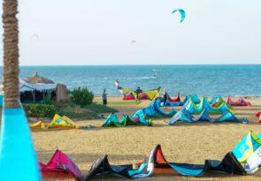 Beginner kitesurfing course in Safaga Egypt kitesurf lessons with Sick Dog Surf