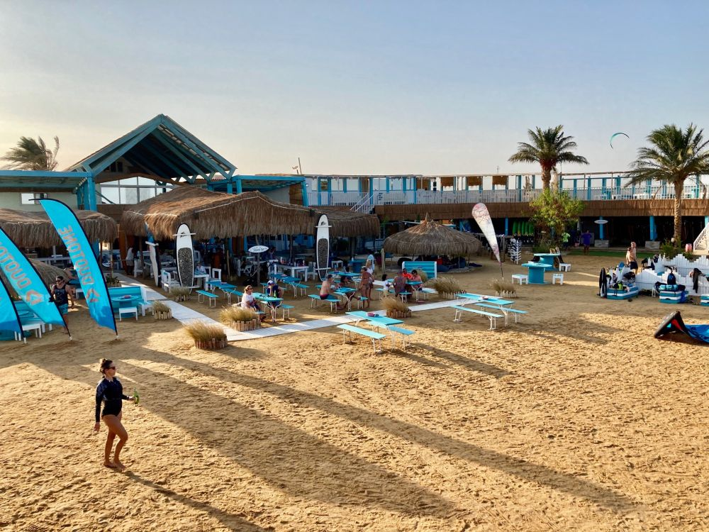 Best Egyptian kite spots Kite beach image by Top Element in El Gouna