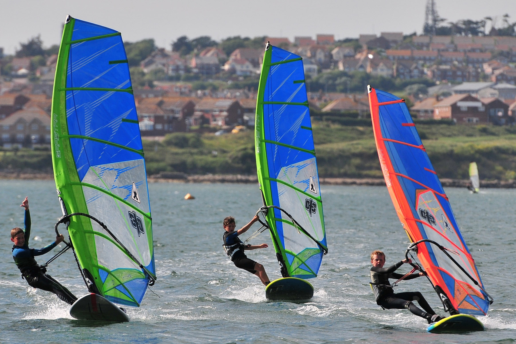 2 day Portland Harbour RYA intermediate windsurf course in Dorset
