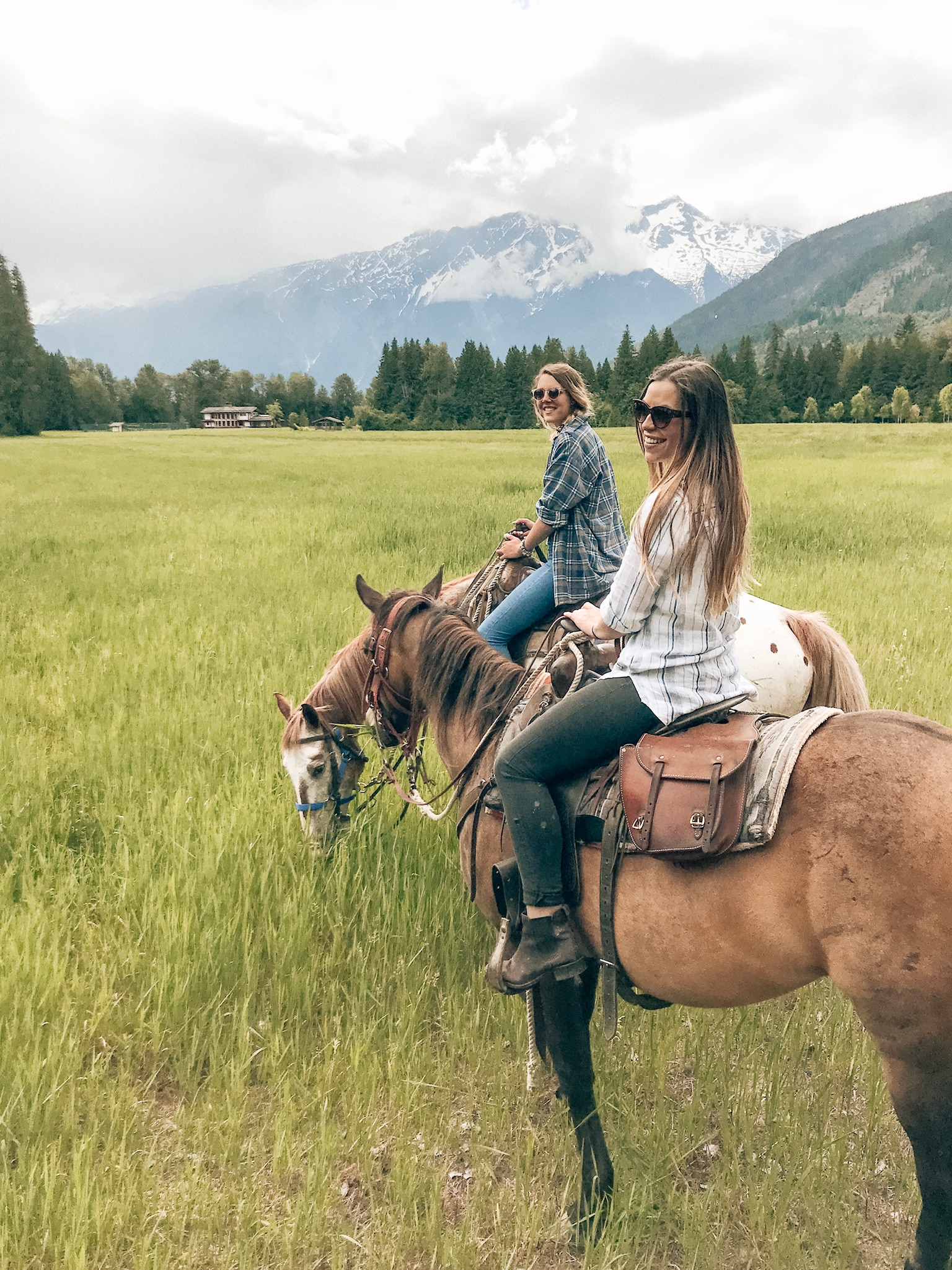 Hourly Horseback Rides in Canada: Horseriding in Pemberton BC