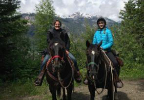 Full Day Horseback ride in Canada