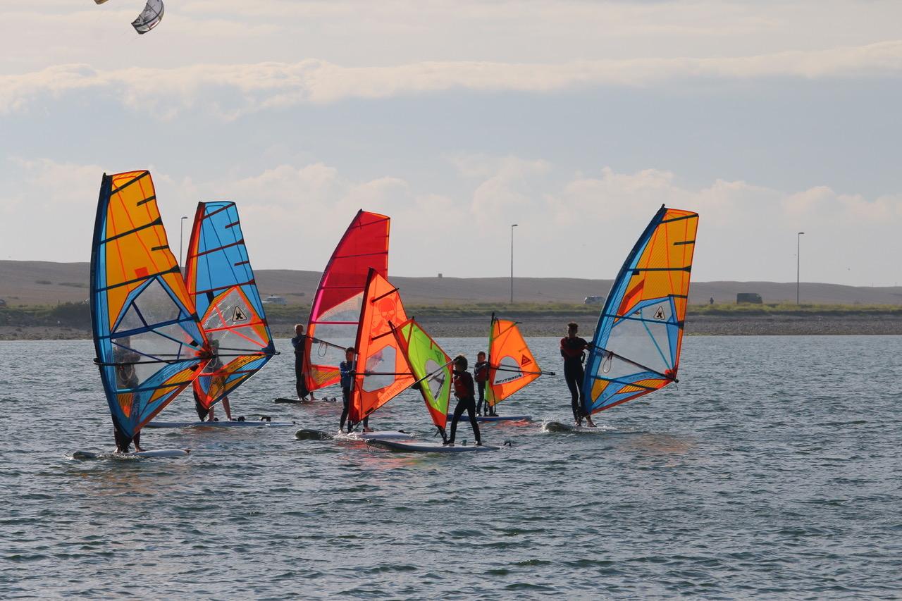 Beginner 2 day RYA Start Windsurf course in Portland Harbour, UK