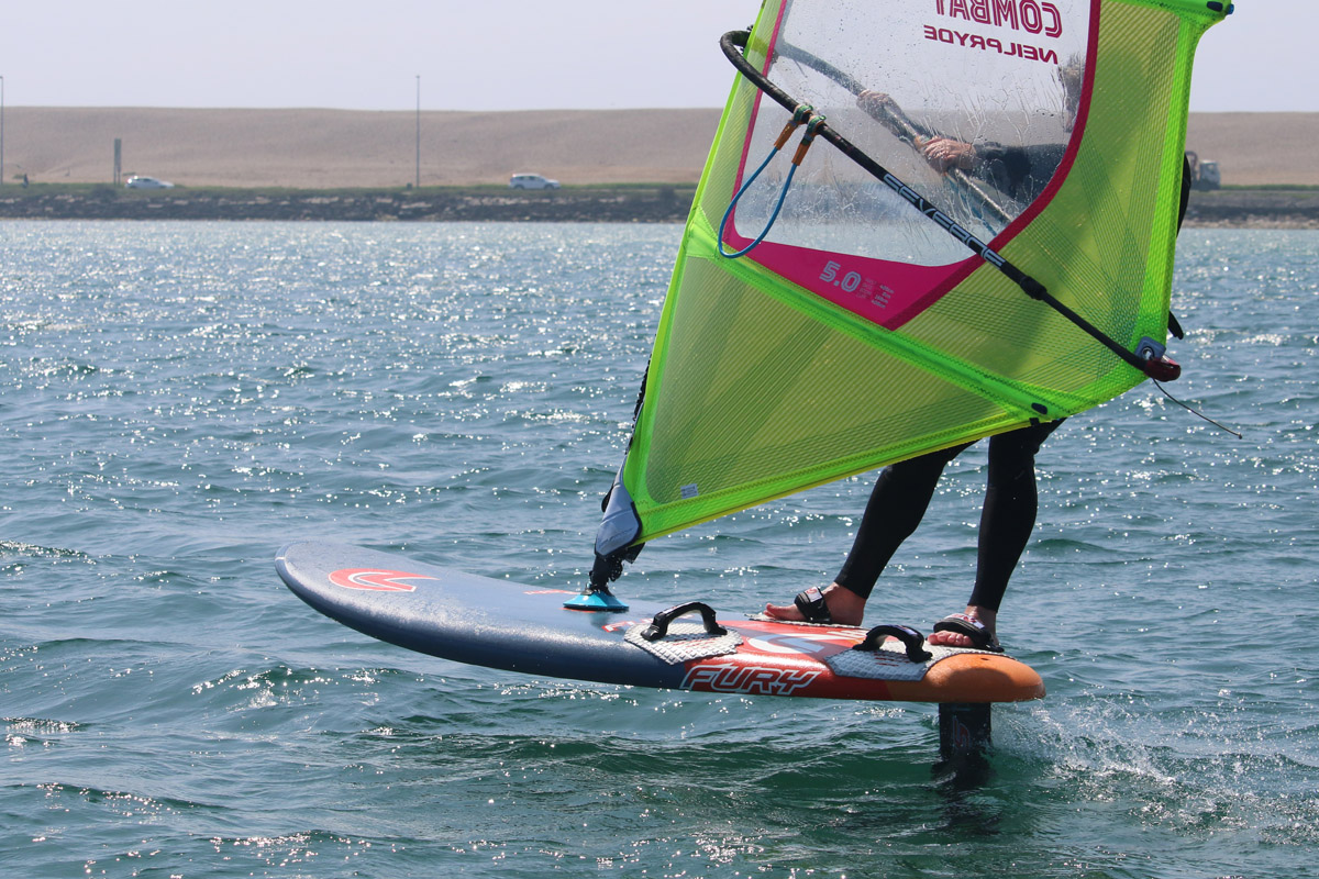 RYA WindFoiling First Flights course: Learn to windfoil in Dorset